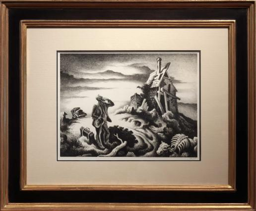 Thomas Hart Benton Prodigal Son Lithograph