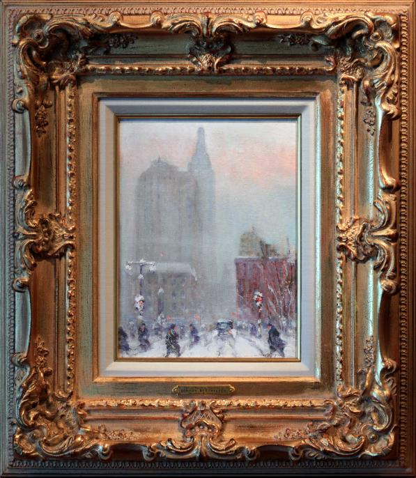 Johann Berthelsen New York City Painting Broadway