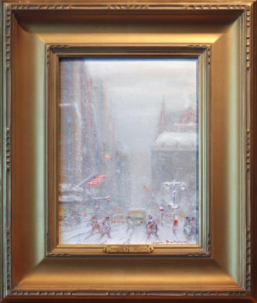Johann Berthelsen 5th Fifth Avenue Painting New York City