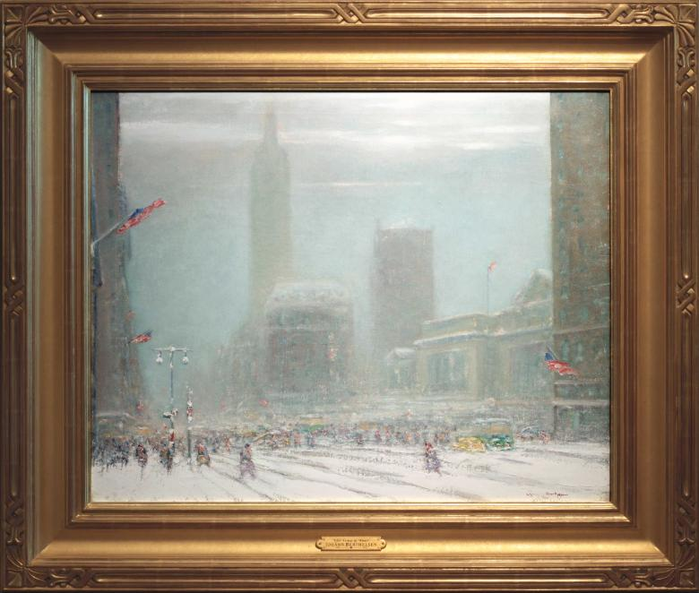 Johann Berthelsen New York City Public Library Painting