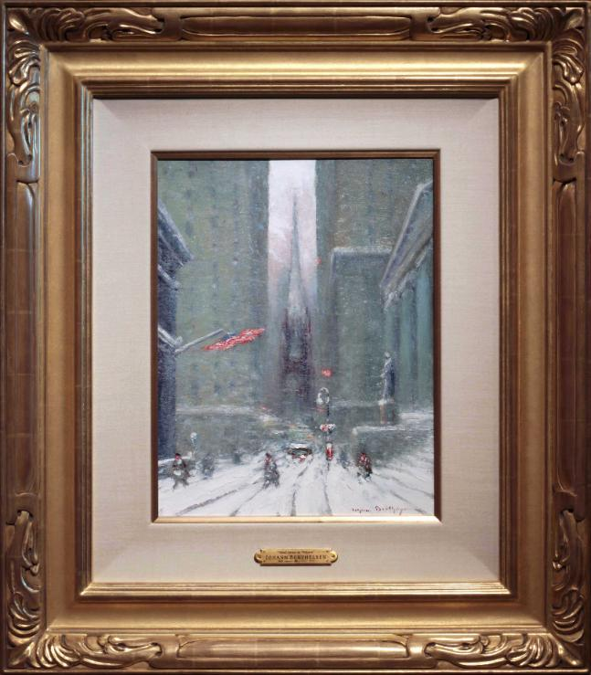 Johann Berthelsen, Wall Street in Winter