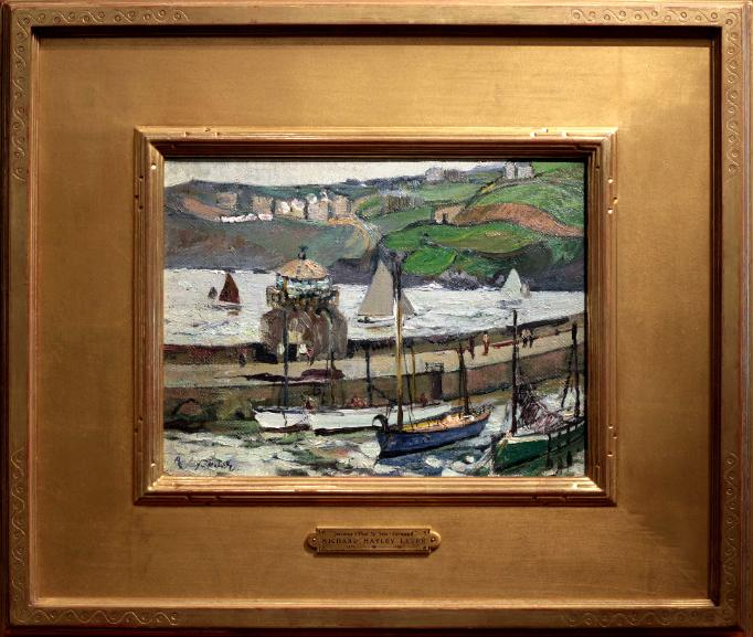 Richard Hayley Lever Oil Painting St Ives Cornwall