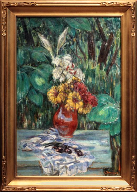 Louis Ritman Still Life Painting